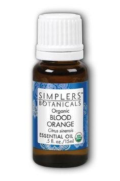 Blood Orange Organic Simplers Botanicals 15 ml Oil
