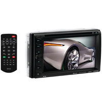 Boss 6.5IN 2DIN DVD RCVR WBLTH