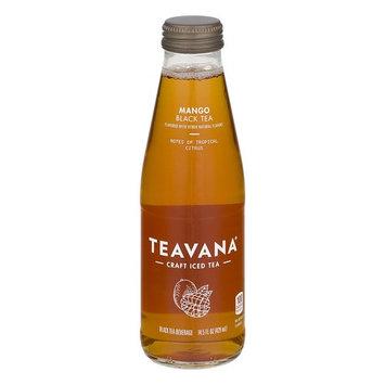 Teavana Craft Iced Tea - 6 Glass Bottles (Black Tea Mango)