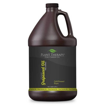 Plant Therapy Grapeseed Cold-Pressed Pure Carrier Oil 1 gal.