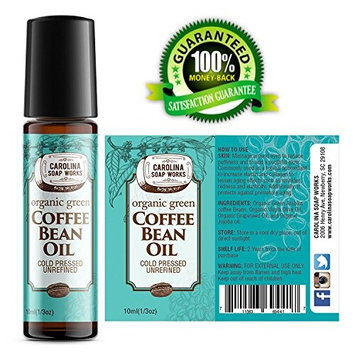 Organic Green Coffee Bean Oil for Puffy Eyes, Dark Circles, Wrinkles and Bags | Organic, Cold Pressed, Unrefined, 100% Natural