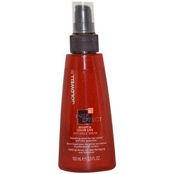 Inner Effet Resoft and Color Live Anti-Frizz Serum By Goldwell for Unisex, 3.3 Ounce