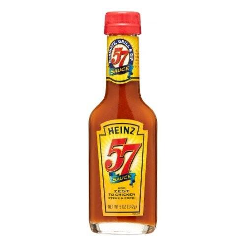 Heinz 57 Steak Sauce 5 oz (Pack of 2)