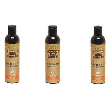 [VALUE PACK OF 3] JAMAICAN MANGO & LIME BLACK CASTOR OIL CONDITIONER 8 oz : Beauty