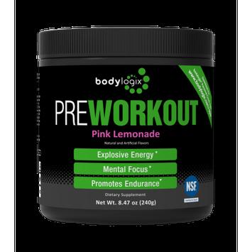 The Winning Combination, Inc. Bodylogix Pre-Workout, Pink Lemonade, 8.47 Oz