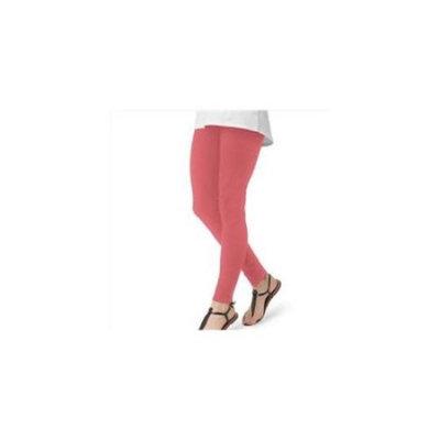Women`s Cotton Leggings, OB831, L, Sunkist Coral