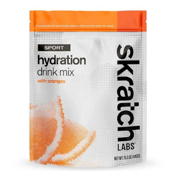 Skratch Labs Sport Hydration Drink Mix - 20-Serving Resealable Pouch (Orange)