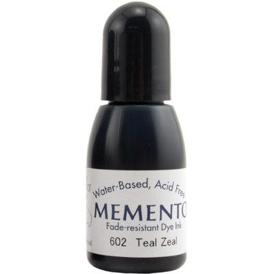 Imagine Crafts Memento Dye Re-Inker-Teal Zeal