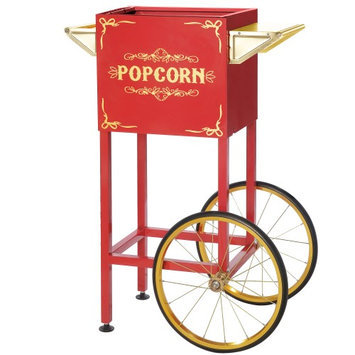Great Northern Popcorn Company Red Replacement Cart for Foundation & All Star Style Great Northern Machines