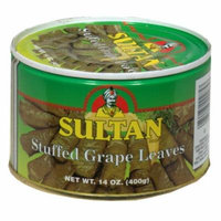 SULTAN GRAPE LEAVES STFD, 14 OZ