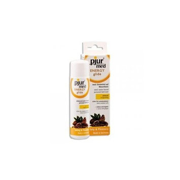 Pjur Med ENERGY Glide, Water-Based Warming And Stimulating Personal Lubricant with Ginger And White Pepper (3.4 Ounce / 100 Milliliter)