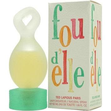 Fou D'elle Lapidus By Ted Lapidus For Women. Eau De Toilette Spray 1.6 Ounces