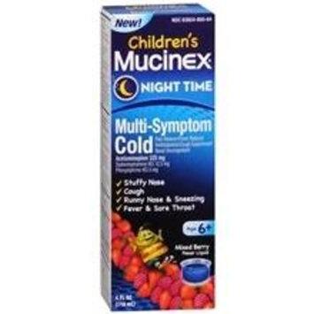 Children's Mucinex Night Time Multi-Symptom Cold Liquid