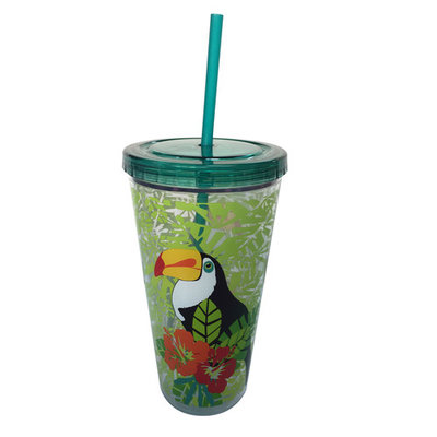 Essential Home 22 Oz. Hydration Tumbler With Straw – Toucan