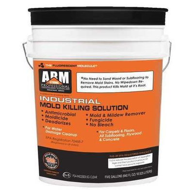 Pro Strong Arm Industrial Mold Killing Solution, 5 gal. Steam, 1 EA Model: PSA-IND2003-5G CLEAR