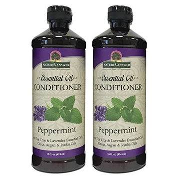 Nature's Answer Essential Oil Conditioner, Peppermint, 2 Count