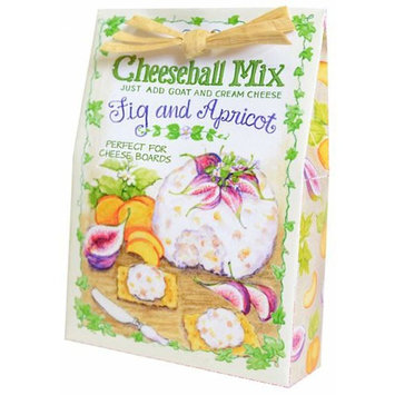 Fig and Apricot 2.5 ounce All Natural Dry Ingredients Cheeseball Mix