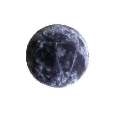 Chicrugz Gray Slipcover Yoga Ball with Inner High Quality Bouncy Fur Ball