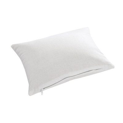 Pillow Company Llc 100% Cotton Millet Hull Lavender Aromatherapy Night Pillow with Zippered Casing and Certified Organic Filling Mini