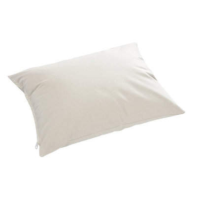Pillow Company Llc 100% Cotton Millet Hull Lavender Aromatherapy Night Pillow with Zippered Casing and Certified Organic Filling Small