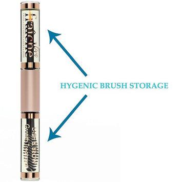 USDA Organic Castor Oil for Eyelashes and Eyebrows - Cold Pressed Castor Oil Eyelash Growth Serum with Mascara Tube - Caster Oil Eyebrow Growth Serum...