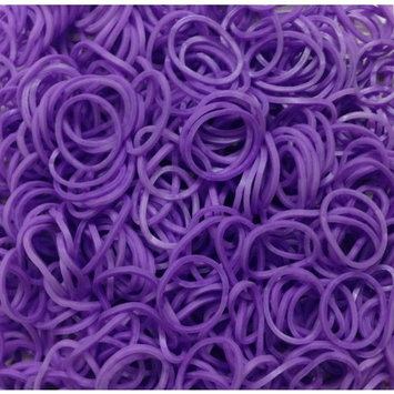 Refill Bands Mixed Colors - Lavender. 3 Free Charms Included