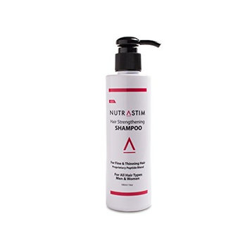 NutraStim Hair Strengthening Shampoo Anti-Thinning Shampoo, Infused with Niacin, Biotin, Caffeine, Antioxidants and Other Natural Ingredients for All Hair Types, Men and Women