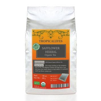 PREMIUM SAFFLOWER - Herbal Tea Concentrate (45 tea bags) Natural heathy Drink Caffeine Free Helps Blood Circulation