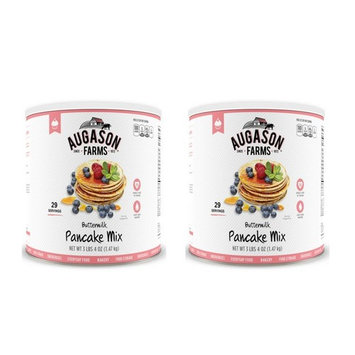 Augason Farms Buttermilk Pancake Mix 3 lbs 4 oz #10 Can (2 pack)