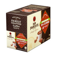 Don Francisco's Single Serve Coffee Pods, Decaf Colombia Supremo Medium Roast, Compatible with Keurig K-cup Brewers, 24 Count [Decaf Colombia 24 ct.]