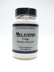 Melatonin 3 mg 120 tabs by Bio-Nutritional Formulas