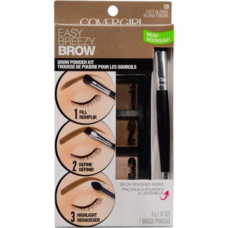 Olay Covergirl Easy Breezy Brow Powder Kit 620 Soft Blonde - 0.14oz