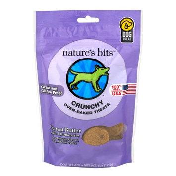 Nature's Bits Dog Treats 6oz-Peanut Butter Crunchy