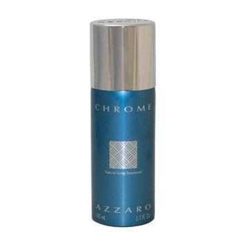 Chrome By Loris Azzaro For Men. Deodorant Spray 5.1 Oz.