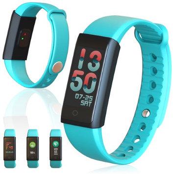 Indigi Active Fitness Monitoring Sports Band w/ Heart Rate Sensor / Blood Pressure / Pedometer / Calorie Counter / Sleep Monito