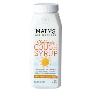Maty's Healthy Products, Llc Maty's All Natural Children's Cough Syrup, 6 fl. Oz.