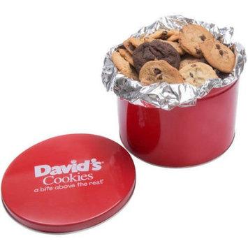 Davids Cookies David's Cookies Fresh Baked Cookies Gift Tin, 48 count, 4 lbs