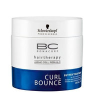 Hair Care-Schwarzkopf - Bonacur Curl Bounce-Bc Curl Bounce Butter Treatment (For Thick Curls &Amp; Waves)-200ml/6.7oz