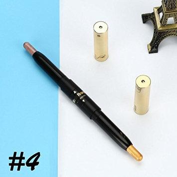 DZT1968 Waterproof Double-head gold foil party wedding eye shadow pen 1.5g+1.5g