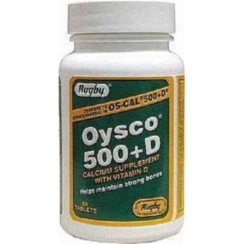 Major Pharmaceuticals Major Rugby Oysco 500+d Tablets, 500mg-200u - 60 Count