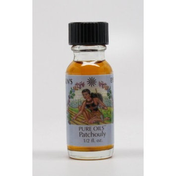 Patchouly - Sun's Eye Pure Oils - 1/2 Ounce Bottle