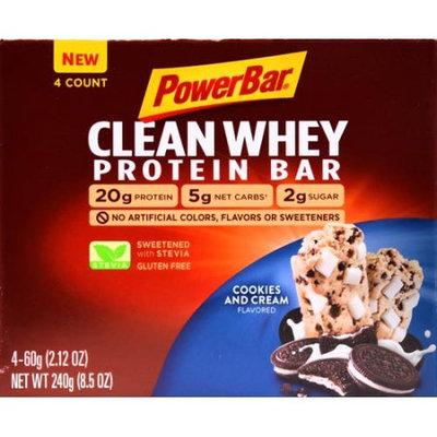 Powerbar Clean Whey Cookies N Cream 4pk