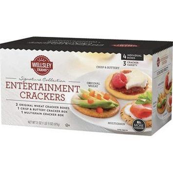 Wellsley Farms Entertainment Crackers, 4 pk./31 oz. x2 AS