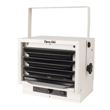 Dyna-glo 5,000-Watt Electric Garage Heater, White