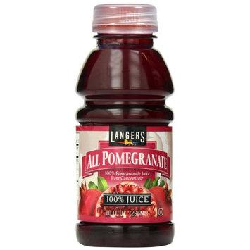 Langers Juice Langers 100% Pomegranate Juice, 10 Fl Oz (Pack of 12)