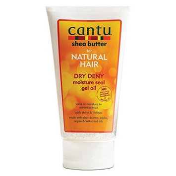 Cantu Natural Hair Dry Deny Moisture Seal Gel Oil 5 oz. (Pack of 12)