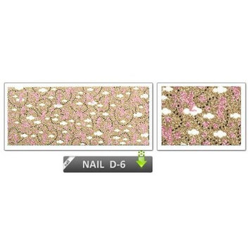 [ANG Nail] 3D Nail Polish Film for Finger and Toe Nails - Secret Garden (Speacial Promotion-FREE GIFT!)
