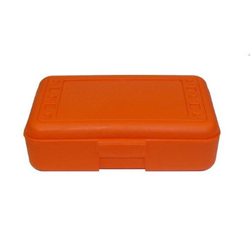 Romanoff Products, Inc. Romanoff Products ROM60209BN 8.5 x 5.5 x 2.5 in. Pencil Box Orange - 12 Each