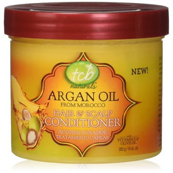 TCB Naturals Argan Oil Hair & Scalp Conditioner, 10 Ounce