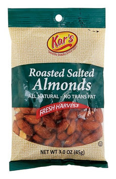 Kar's 3 Oz Roasted Salted Almonds (8449)
